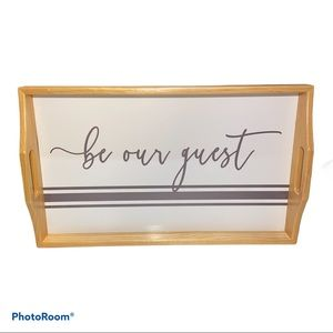"🎉HP🎉""Be Our Guest"" Tray"